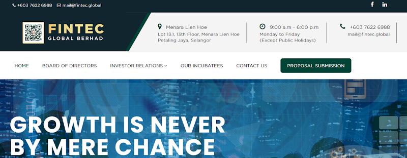 Мошеннический сайт fintec.global – Отзывы, развод. Компания Fintec Global Berhad мошенники