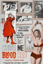 Watch Color Me Blood Red Online Free 1965 Putlocker