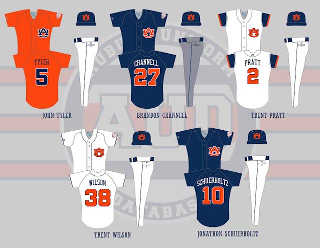 auburn baseball 2002 uniforms