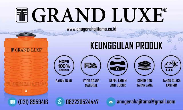 Keunggulan Tangki Air Grand Luxe