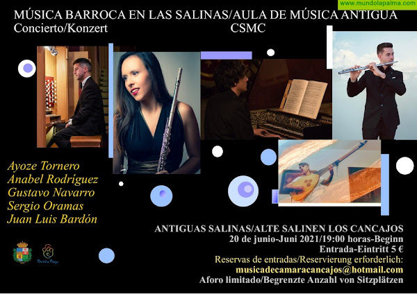"""SALINAS: Concierto """"Música Barroca en Las Salinas"""""""