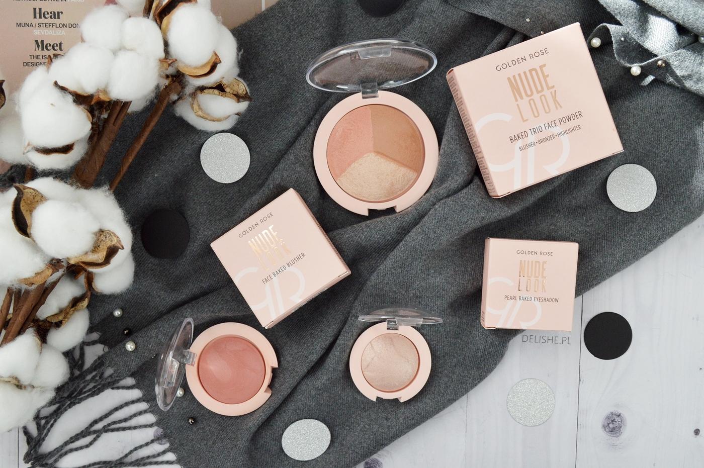 nowości kosmetyczne kosmetykomania golden rose nude look