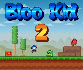 Jogo online grátis Bloo Kid 2 retro