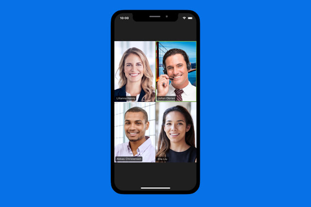 Insecure video calling app
