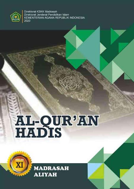 Buku Al Quran Hadis MA Kelas XI