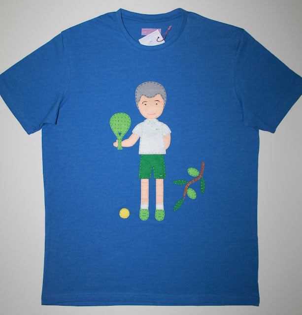 camiseta padel personalizada