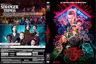 STRANGER THINGS T3 – 2019 [COVER – DVD]