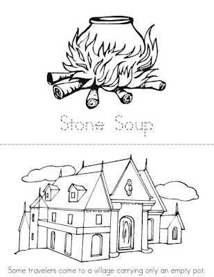 Stone Soup Coloring Pages Sketch Coloring Page