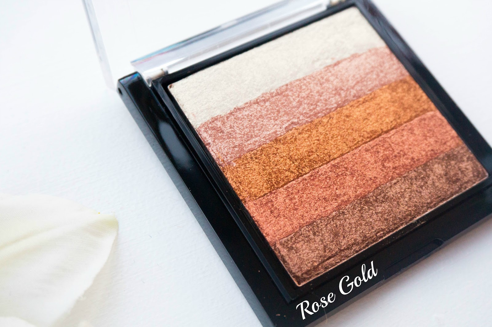 Makeup Revolution Shimmer Brick Rose Gold