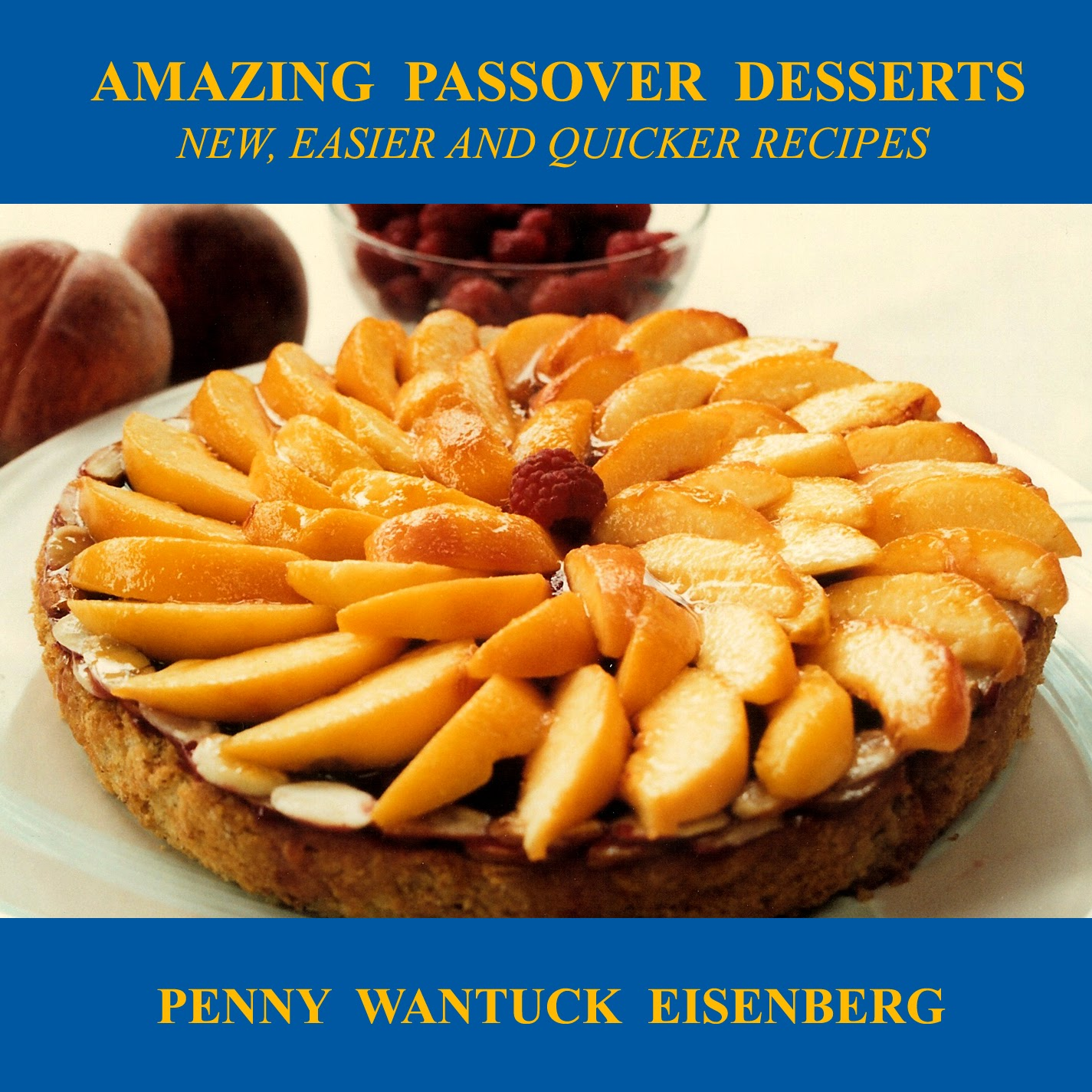Amazing Dessert Recipes: Passover Hazelnut Pear Tort