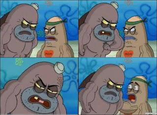 Polosan meme spongebob dan patrick 77 - salty spitoon apa kelebihanmu, seberapa greget kamu ?