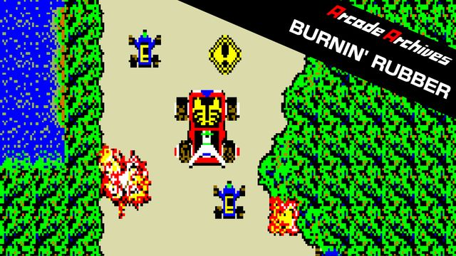 Arcade Archives BURNIN' RUBBER v1.0 NSP XCI For Nintendo Switch