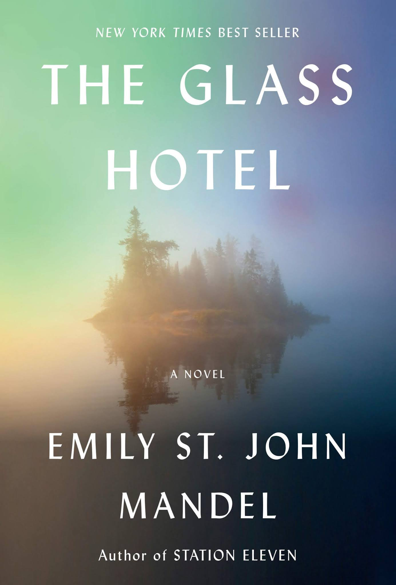 Book cover for The Glass Hotel by Emily St John Mandel The Glass Hotel in the South Manchester, Chorlton, Cheadle, Fallowfield, Burnage, Levenshulme, Heaton Moor, Heaton Mersey, Heaton Norris, Heaton Chapel, Northenden, and Didsbury book group