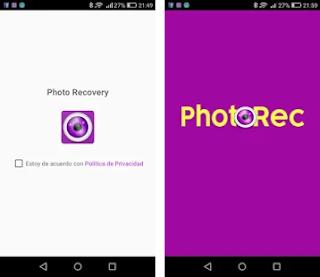شرح واستخدام برنامج Photorec
