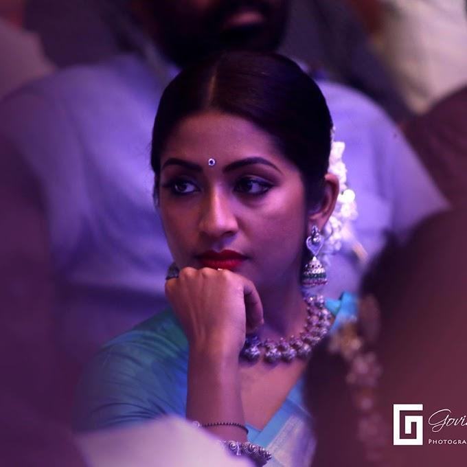Malayalam Actress Navya Nair Cute Eyes