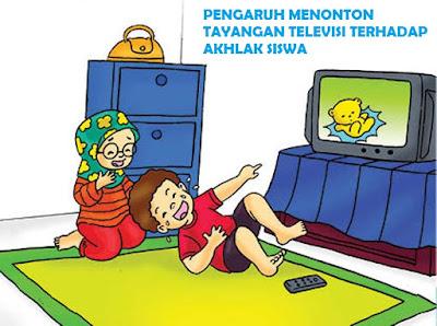 pengaruh menonton televisi terhadap akhlak anak