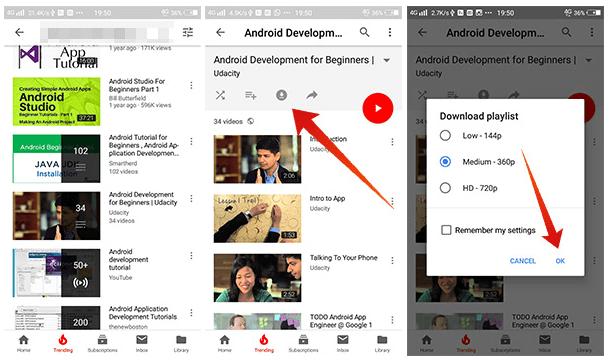 Cara Download Video YouTube dan Simpan ke Kartu SD (Secara legal)