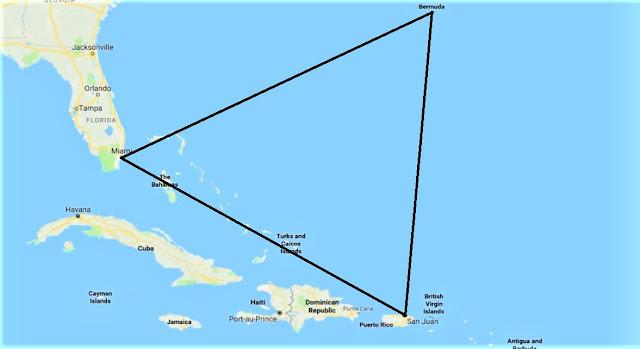 बरमूडा ट्रायंगल Map