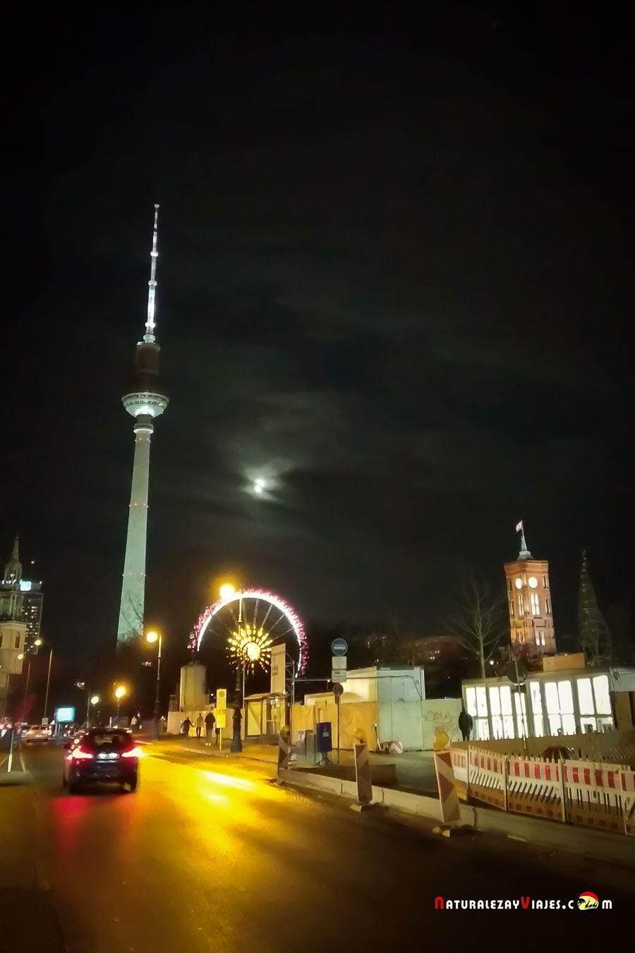 Mercado de Navidad Roter Rathaus en Berlín