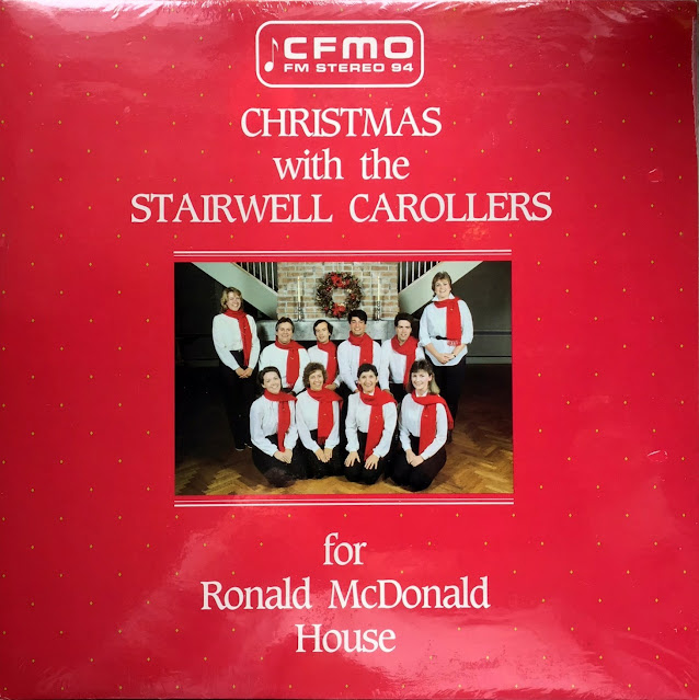 Stairwell Carollers for Ronald McDonald House -  Vinyl 1985