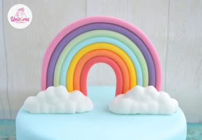 Arcobaleno di pasta di zucchero di Nicole