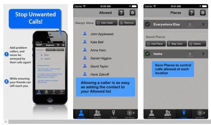 Aplikasi Pemblokir Panggilan Terbaik untuk iPhone - Call Bliss