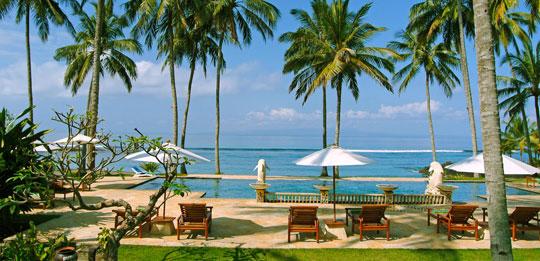 Bali Hotels Villas Tours And Travel Guides Candi Beach Cottage Candidasa Bali