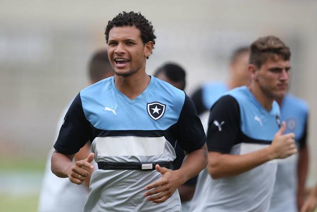 Arão defendeu o Botafogo na temporada de 2015 (Foto: Satiro Sodre/SSPress)