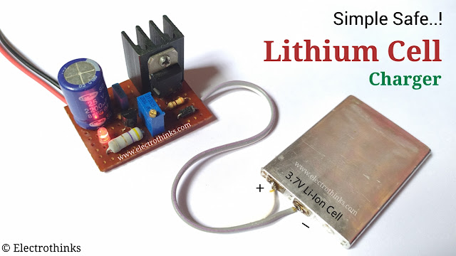 Lithium cell charger