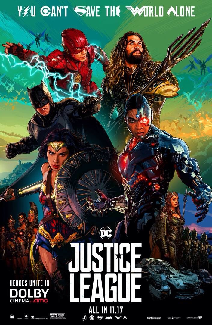 Justice League Film Official Posters