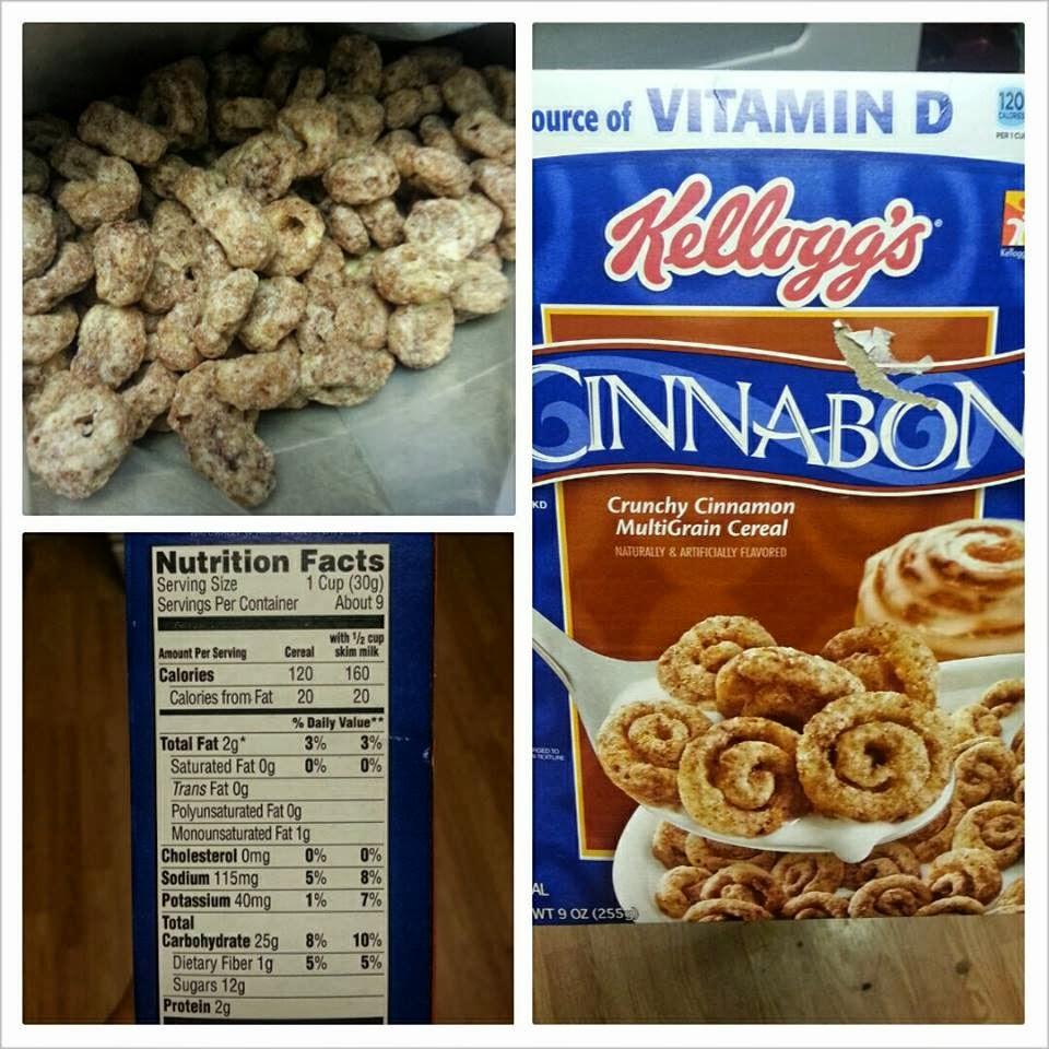 Shannon's Lightening The Load: Kellogg's Cinnabon Cereal