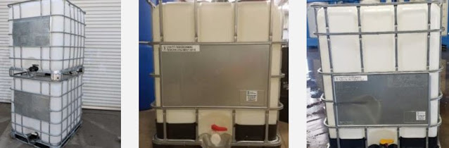 stainless steel ibc totes intermediate bulk containers