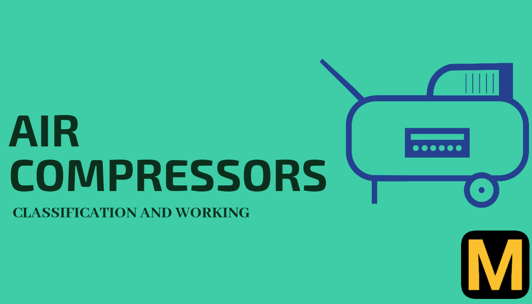 Air compressor- its definition,  types  and uses.