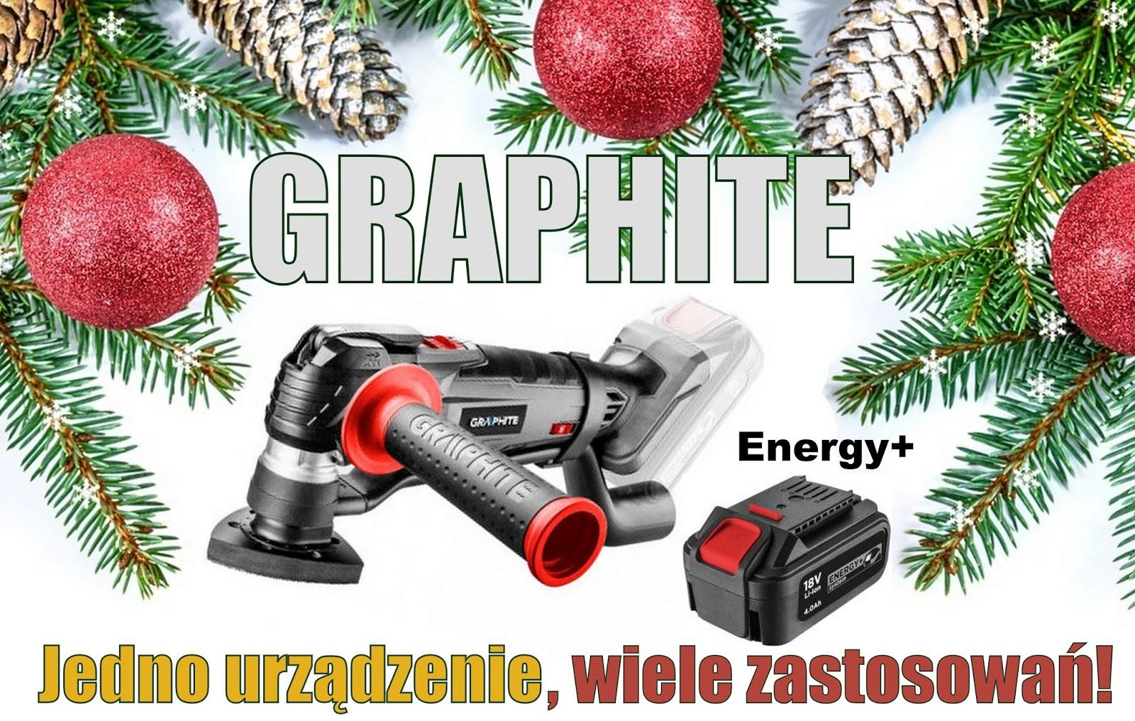 Urządzenie wielofunkcyjne GRAPHITE - Idealny prezent dla majsterkowicza