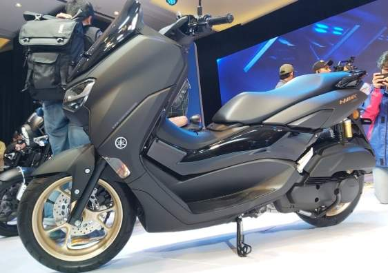 All New Nmax 115 VVA Warna Matte Black