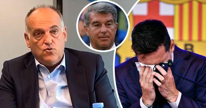 Tebas on 'Messi's exit: He did not leave for economic reasons'