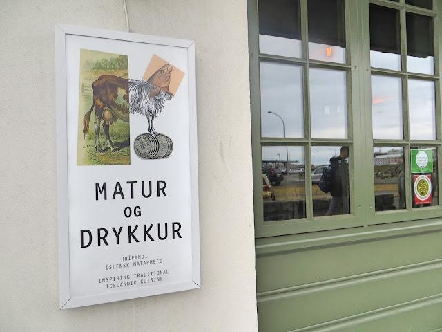 Matur Og Drykkur, Reykjavik