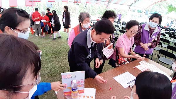 彰化縣益智桌遊嘉年華 多元健康促進老年生活不孤單