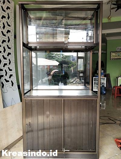 Gerobak Es Buah Aluminium yang Unik dan Paling Recomended