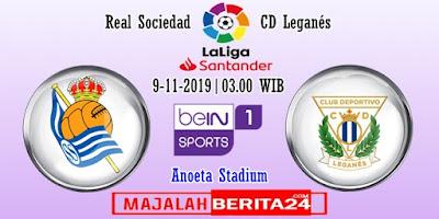 Prediksi Real Sociedad vs Leganes — 9 November 2019