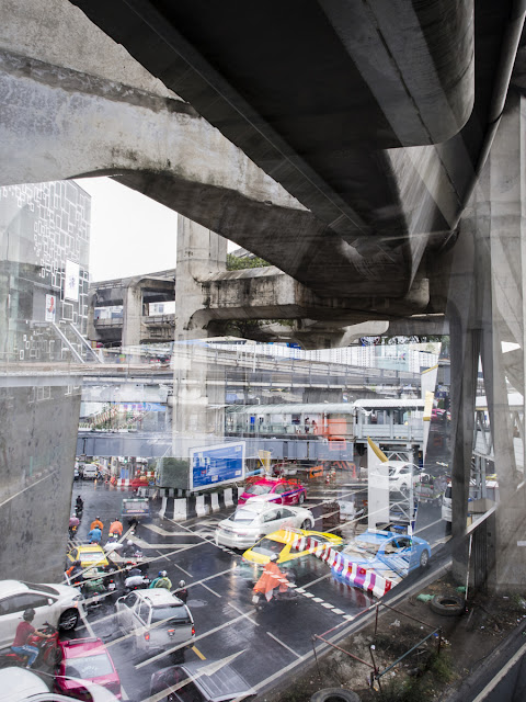 Chaos Françoise Lerusse Bangkok Ville Chronique
