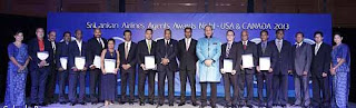 Sri Lankan Airlines Agent Awards Ceremony 2013