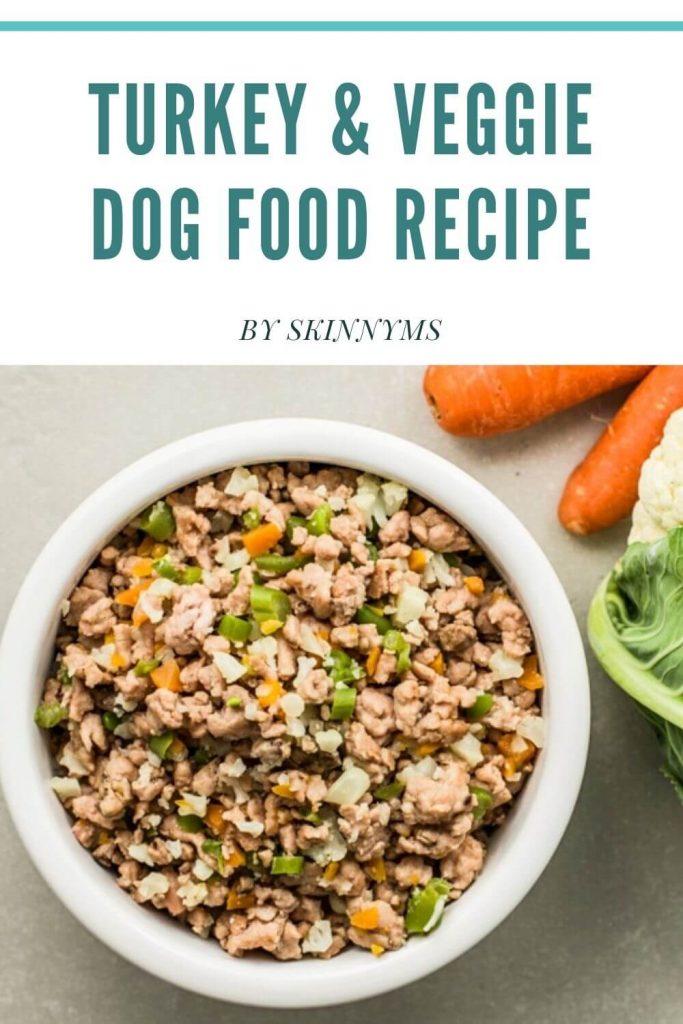 Turkey & Veggie Dog Food Recipe