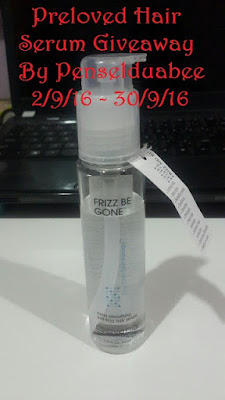 http://penselduabee.blogspot.my/2016/09/preloved-hair-serum-giveaway-by.html