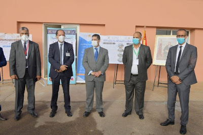 وزيرا التعليم والصحة يتفقدان مركز امتحان الباكالوريا الخاص بالمصابين بكورونا ببنسليمان