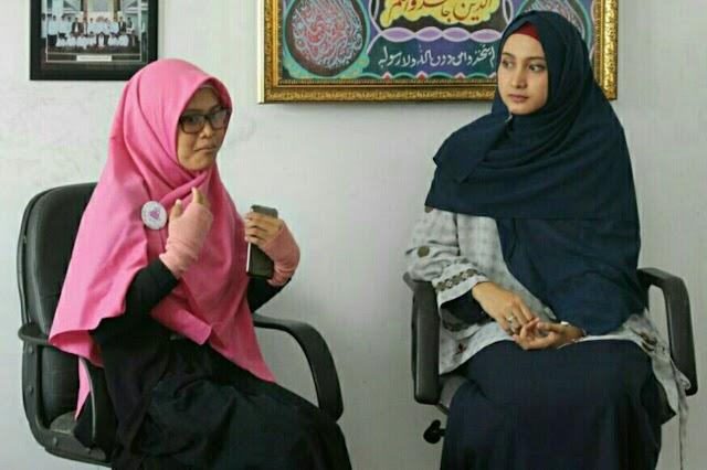 "Artis Film ""Ketika Cinta Bertasbih"" Berikan Motivasi Berhijab Bagi Remaja Muslimah Kuningan"