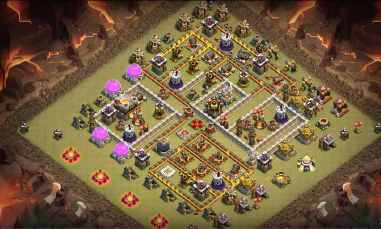 Base War Th 11 Farming 11