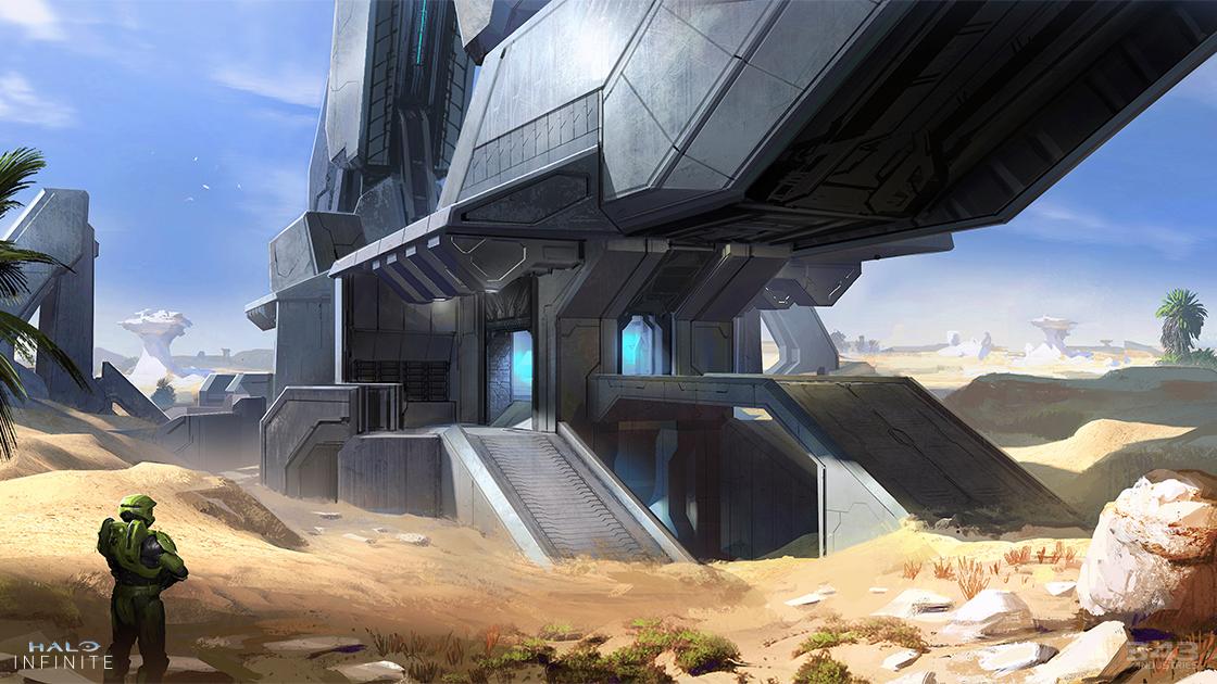 Arte de Halo Infinite