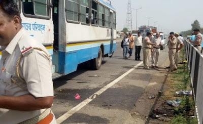 Blast in private bus in Haryana; 4 injured
