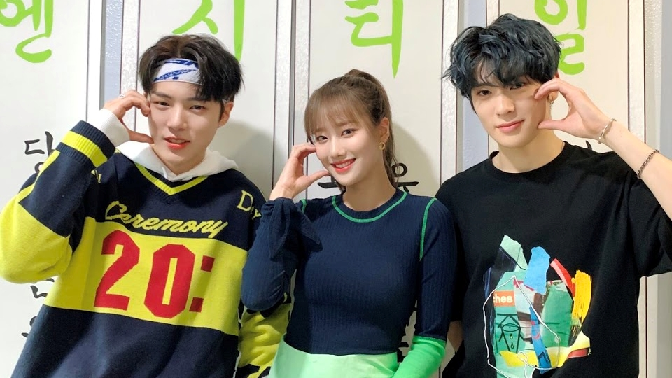 NCT's Jaehyun, APRIL's Naeun and MONSTA X's Minhyuk Greet The Audience For The Last Time as 'Inkigayo' MCs